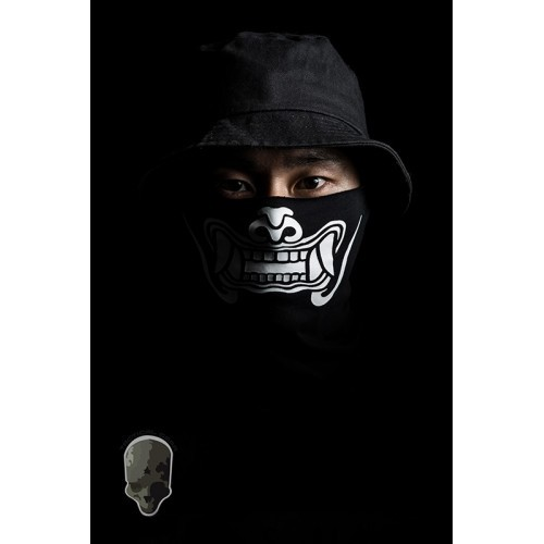 TMC Multi Function Ghost Skull Head Wrap (Black)