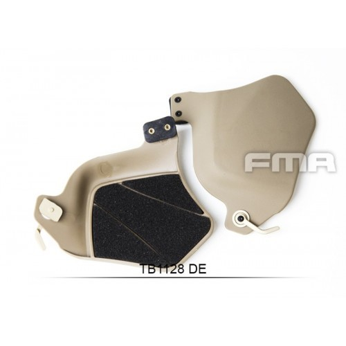 FMA Plastic Helmet Side Covers With Pad