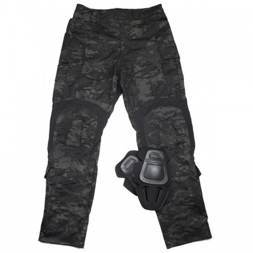 TMC Gen3 Combat Trouser with Knee Pads (Multicam Black)