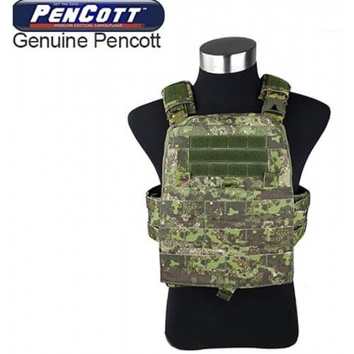 TMC Modular Assault Vest System Plate Carrier 2016Ver Color-PenCott GreenZone