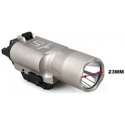 Mars Tech X Ray 300U Flashlight