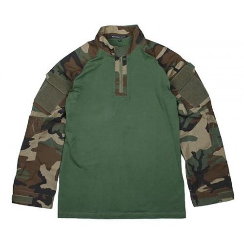 TMC Defender Combat Shirt (Woodland)