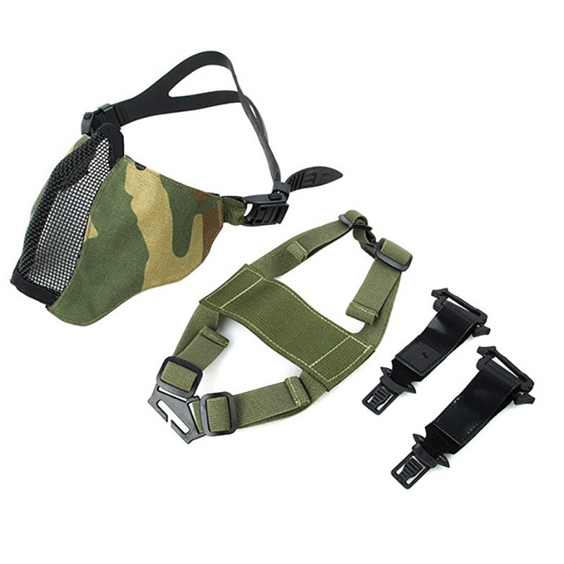 TMC Metal Mesh Half Face Airsoft Mask 2.0