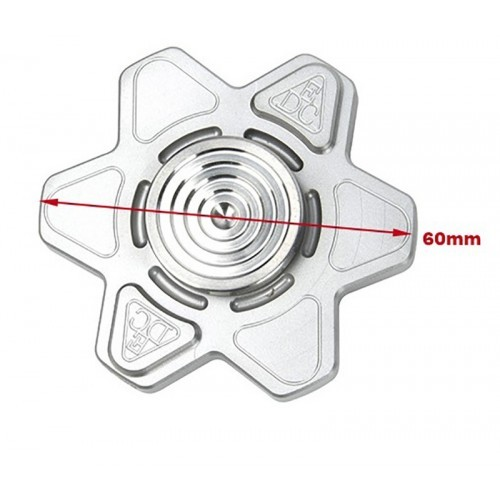 EDC Gear TC4 Titanium 6 Star Hand Spinner