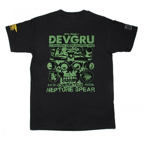 Waterfall Devgru Gold Squad Style Cotton T Shirt
