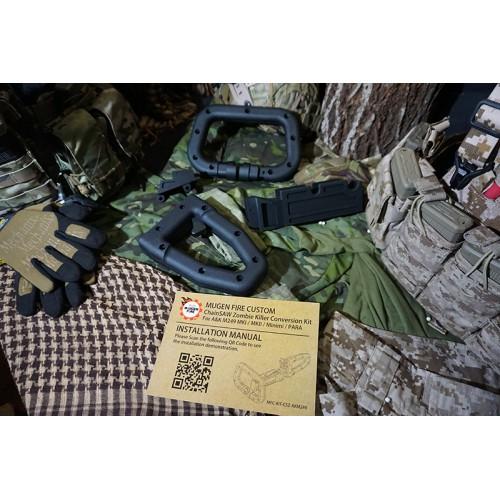 Mugen Fire Custom Chain Saw Zombie Killer Conversion Kit
