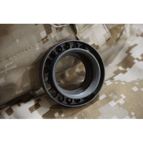 Iron Airsoft Steel Barrel Nut