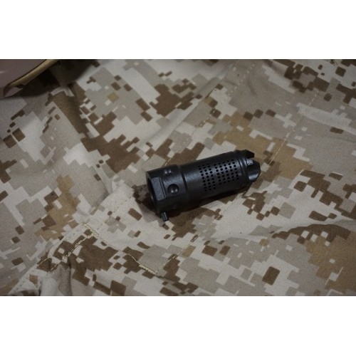 Iron Airsoft MAMS 5.56 Steel Flash Hider