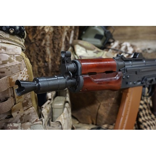 Arrow Dynamic (E&L OEM) AKS74UN AEG Rifle with Real Wood Furniture