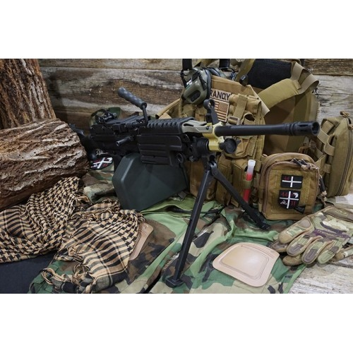 A&K Full Metal M249 MKII AEG Machine Gun