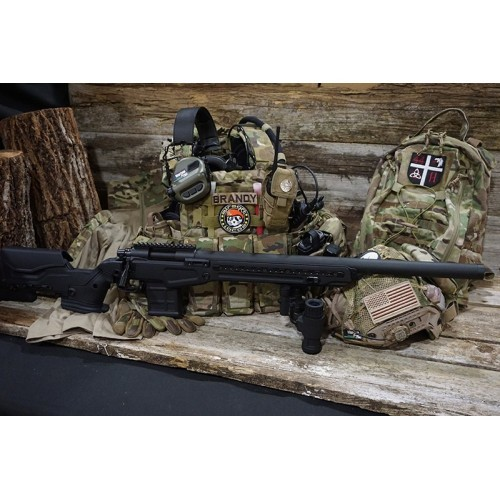 Action Army T10 Bolt Action Airsoft Sniper Rifle