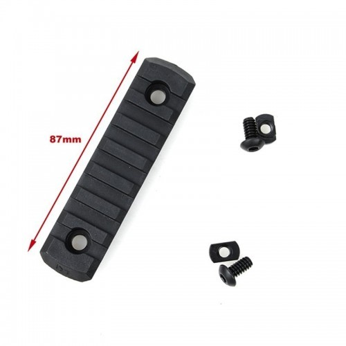 TMC Nylon M-Lock 7 Slot Picatinny Section Set