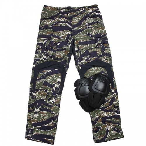 TMC Gen3 Origianl Cutting Combat Trouser with Knee Pads 2018 Version (Blue Tiger Stripe)