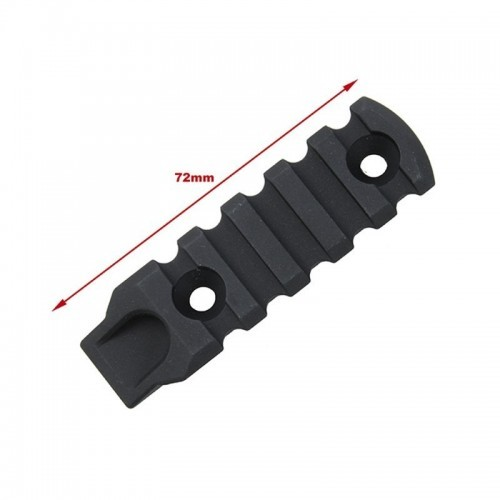 TMC Aluminum 5 Slot Rail Section for M-Lock
