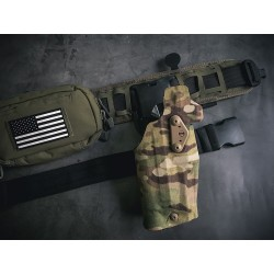 TMC 354DO ALS Optic and Flashlight Tactical Holster (2018 Version)