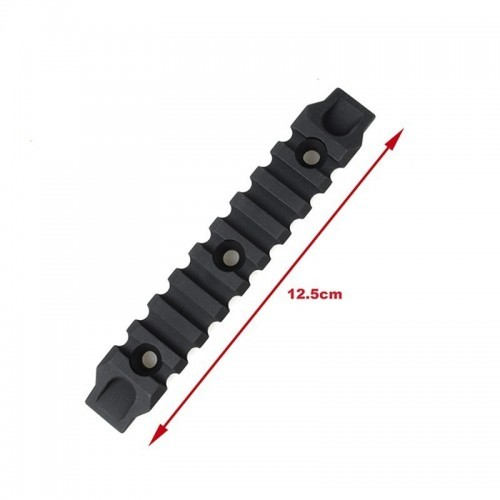 TMC Aluminum 9 Slot Rail Section for M-Lock