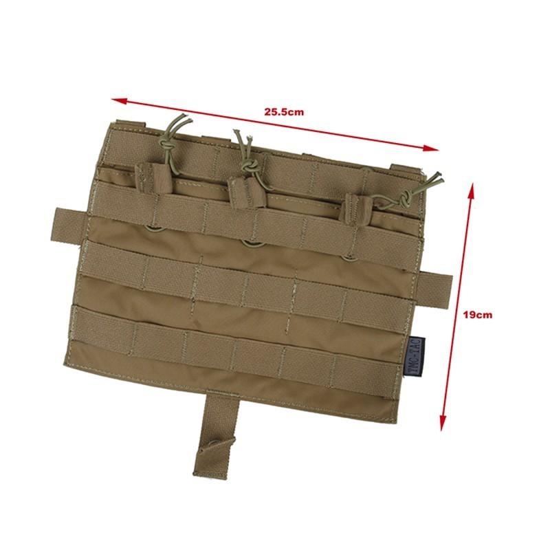 TMC Detachable Flap M4 Mag Panel