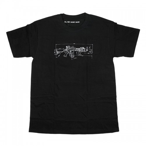 TMC MK18 Rifle Style One Way Dry T Shirt