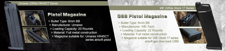 GBB PISTOL MAG