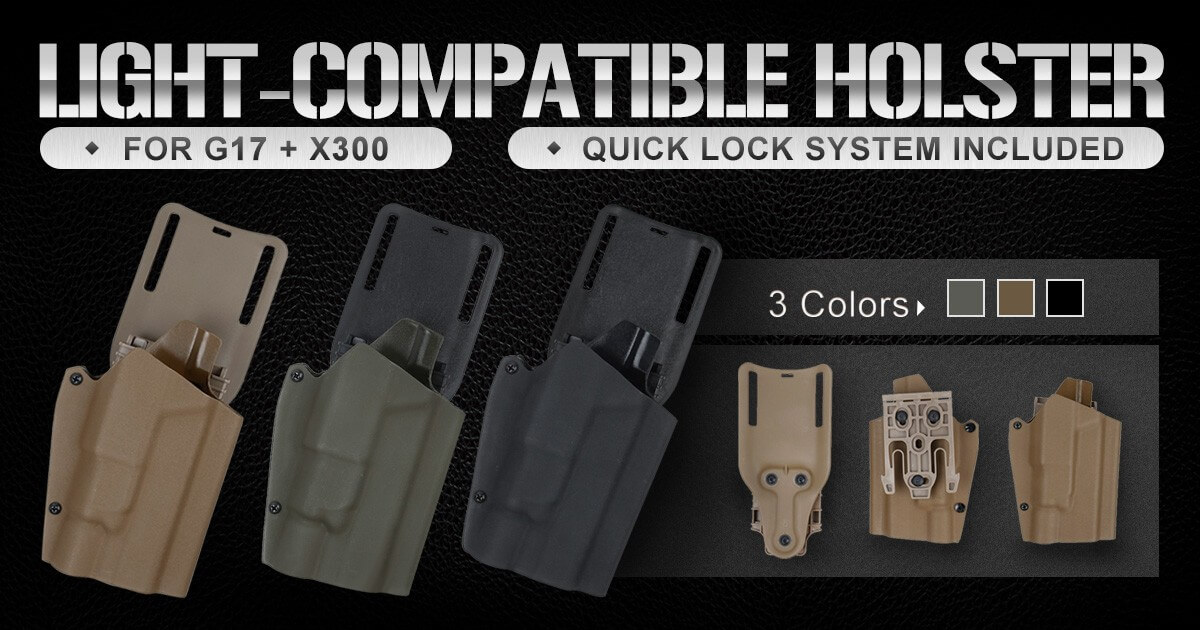 TMC Kydex Holster for G17 & X300